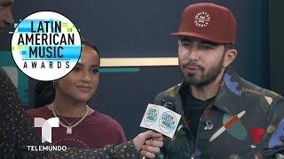 Becky G, Joss Favela y el origen de 'Pienso en Ti' | Latin AMAs | Entretenimiento