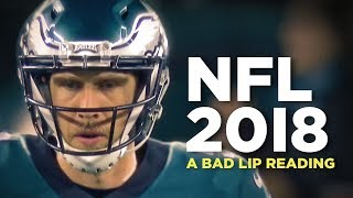 """NFL 2018"" — A Bad Lip Reading of the NFL"