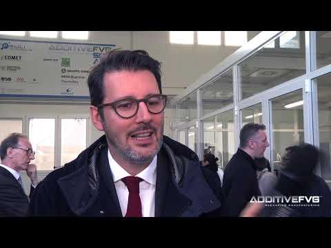 Inaugurazione Additive FVG Square - Intervista a Giuseppe Visentini, Thermokey