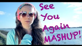 Wiz Khalifa - See You Again ft. Charlie Puth Cover by 12 year old Sapphire [MASHUP!]