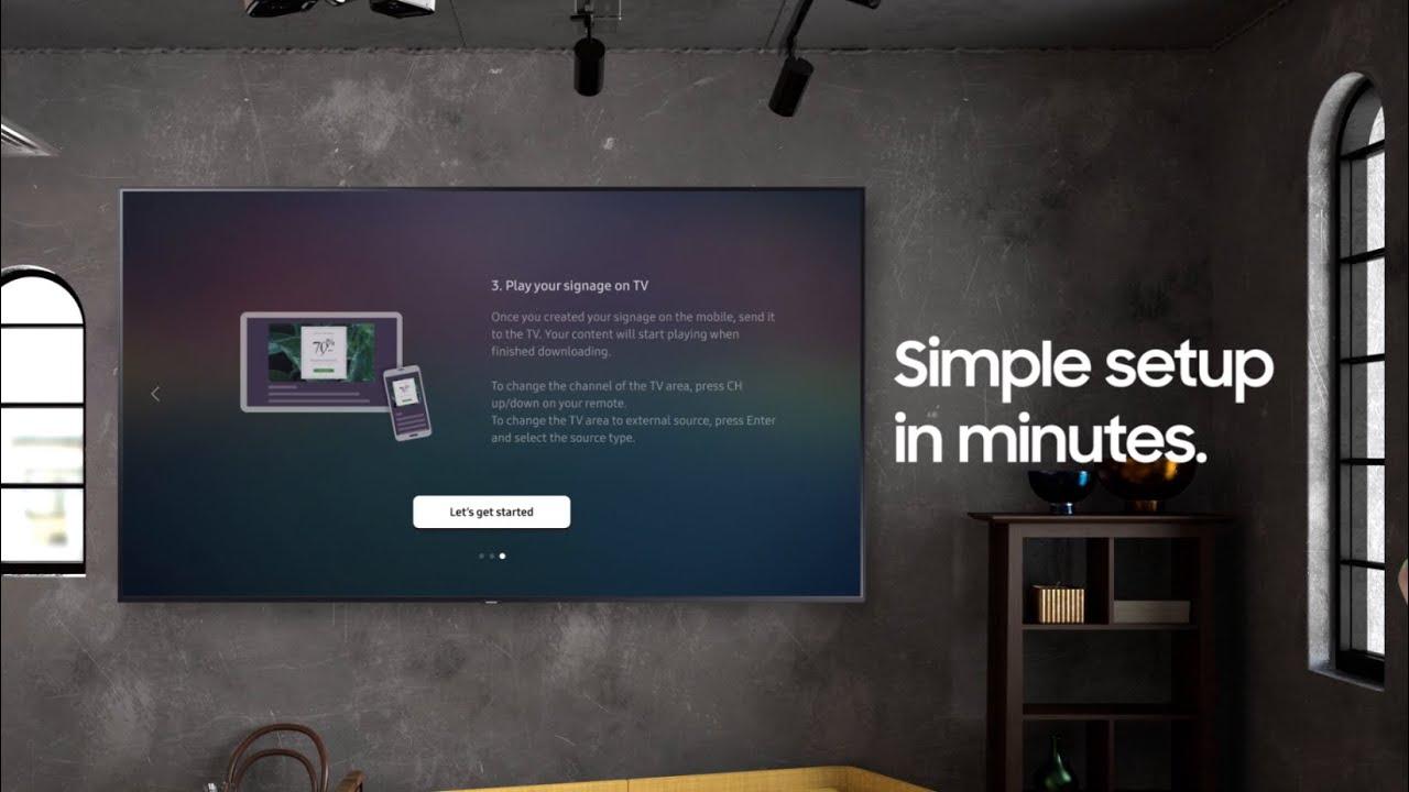 Samsung Business TV: Do more with your TV I Samsung