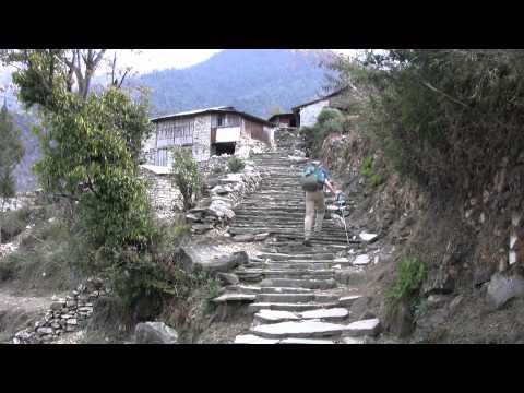 Annapurna Circuit – Dag 16 – Tatopani – Ghorepani