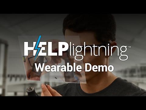 Ukázka použití chytrých brýlí Vuzix v kombinaci s aplikací Help Lightning