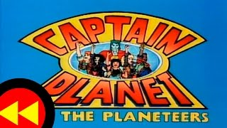 Reversed Captain Planet and the Planeteers Intro 1990