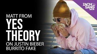 Justin Bieber Burrito Prankster Matt from Yes Theory