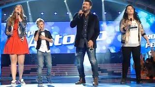 """Antonio Orozco y su equipo: """"Pídeme"""" – Final  - La Voz Kids 2017"""