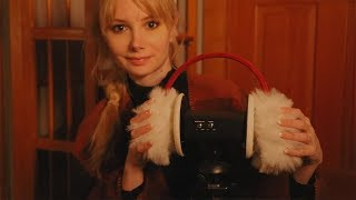 Gentle Ear Muff Brushes for Relaxation ☁ ASMR