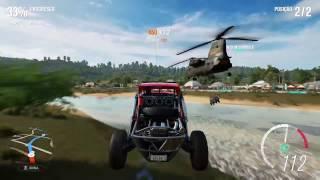 Forza Horizon 3 Carro vs Helicóptero