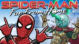 Spider-Man: Far From Home Trailer Spoof - TOON SANDWICH