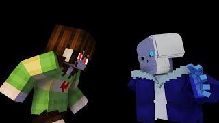 Minecraft undertale: stronger than you (Chara Response Parody)