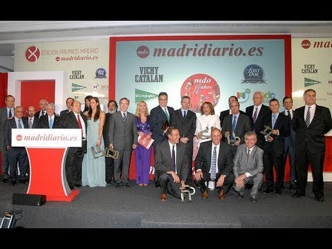 X PREMIOS MADRID 2012