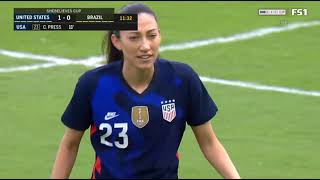 USA vs Brazil    SheBelieves Cup 2021