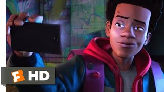 Spider-Man: Into the Spider-Verse (2018) - Miles Gets Bit Scene (3/10) | Movieclips