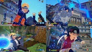Naruto to Boruto Shinobi Striker PC - All Ultimate Jutsu Ougi 1080p 60 FPS