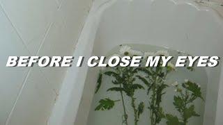 xxxtentacion - before i close my eyes (lyrics)