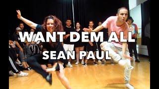"""Want Dem All by Sean Paul   Choreography by Steven """"Stefan"""" Lopez"""