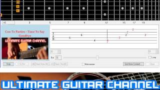 [Guitar Solo Tab] Con Te Partiro - Time To Say Goodbye (Andrea Bocelli And Sarah Brightman)