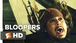 Pirates of the Caribbean: Dead Men Tell No Tales - Bloopers (2017) | Movieclips Extras