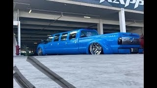 8 Doors F350 Dually on 28's Doing Donuts!!! 💨🍩  [Viral on Instagram] Must See!!!