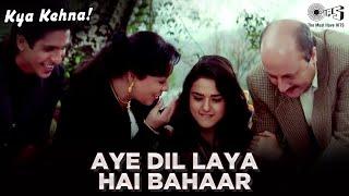 Aye Dil Laya Hai Bahaar -Kya Kehna | Preity Zinta | Kavita Krishnamurthy & Hariharan | Rajesh Roshan width=