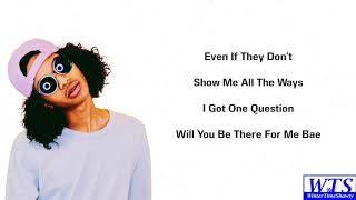 Trinidad Cardona - Even If (Lyrics)