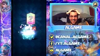 Abro cofre legendario y me toca carta nueva!!! Clash Royale - [ALGAME]