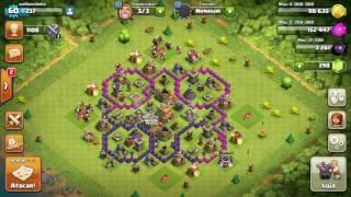 Sorteio cv 7 Clash of clans