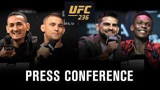 UFC 236: Holloway vs. Poirier 2 Press Conference