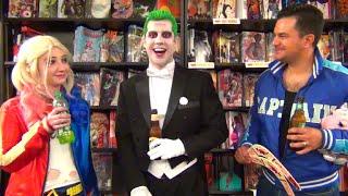 Joker's Birthday Celebration! Featuring Harley Quinn & Captain Boomerang! Real Life DCEU Parody