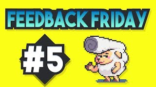 Feedback Friday #5 - Critique Your Pixel Art, Tips and Tricks
