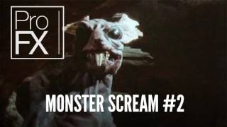 Monster scream sound effect 2   ProFX Sound, Sound Effects, Free Sound Effects MIF0NmJNZ70