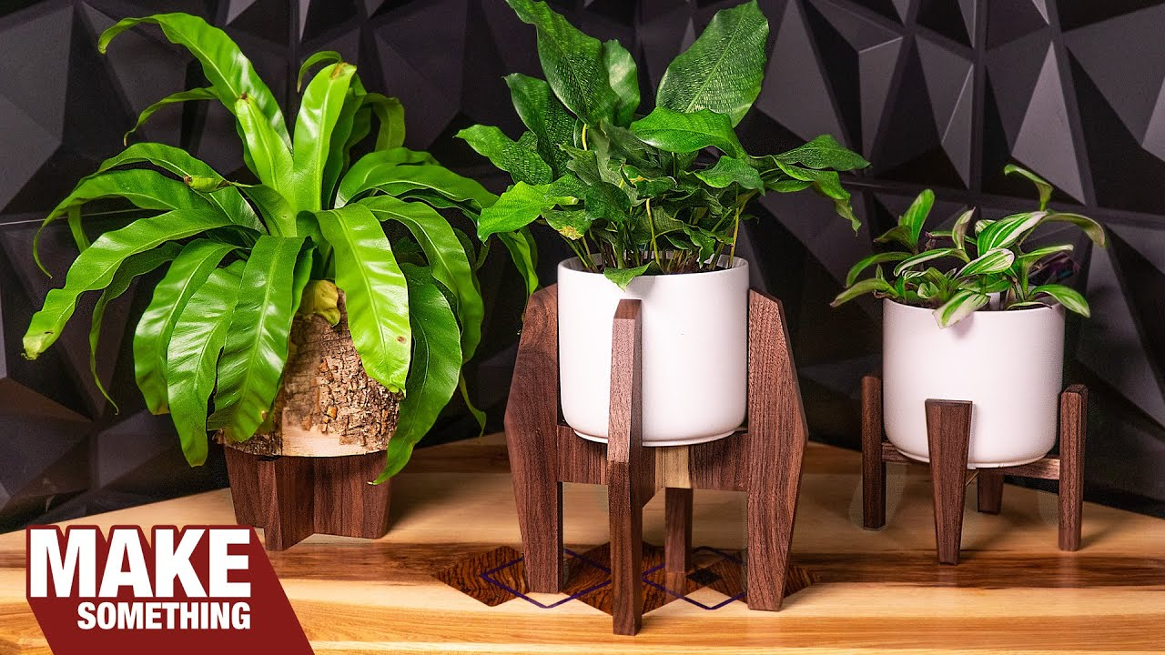 How to Make 3 Different Planters out of wood