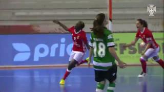 Taça Portugal de Futsal Fem.: SL Benfica 4 - 3 Sporting CP