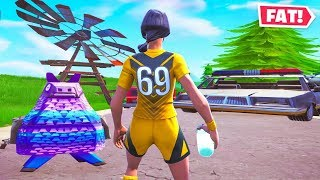 Fortnite but Everything Is STRETCHED!