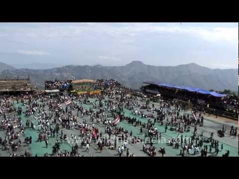Fantastic Mass bamboo dance in Mizoram!