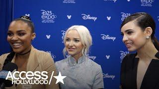 'Descendants 2': Dove Cameron, China Anne McClain & Sofia Carson On Romance In The Sequel