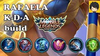 Mobile legends rafaela build KDA