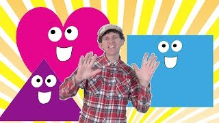 Shapes Counting and Clapping Song for Children | toddlers, kids, preschool, learn English