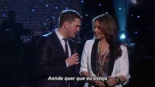 Michael Bublé Feat Thalia - Mis Deseos / Feliz Navidad Legendado (Special Christmas Live)