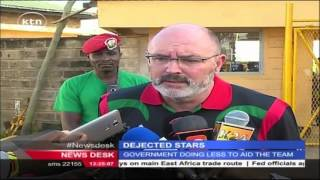 Dejected Harambee Stars return home from Cape Verde