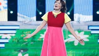 Silvia Abril imita a Heidi en 'Tu cara me suena'