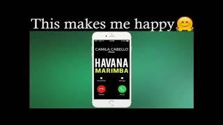 Camila Cabello & Young Thug -Havana Marimba Ringtone Remix new