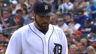 TB@DET: Fulmer ties Tigers' rookie record with 11 Ks