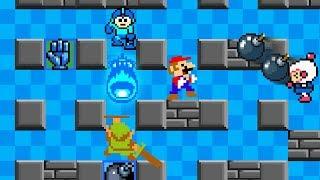 Mario Vs Link Vs Megaman Vs Bomberman BATTLE ROYAL!