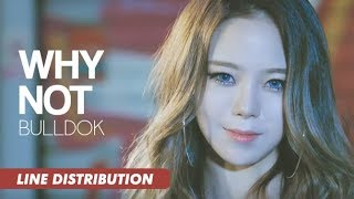 BULLDOK (불독) - Why Not (어때요) | Line Distribution