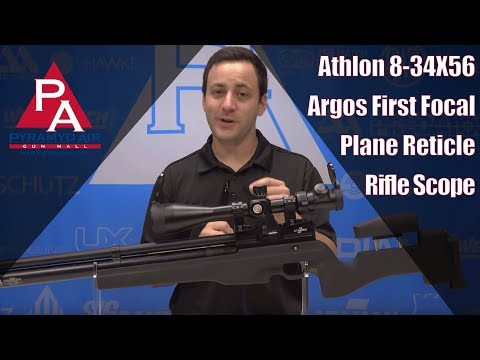 Athlon 8-34X56 Argos First Focal Plane Reticle Rifle Scope