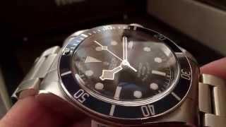 TUDOR Black Bay blue bezel : unbox