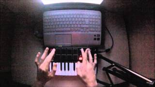 Live Performance #1: Yeah Yeah Yeahs - Heads Will Roll (A-Trak Remix)[AKAI MPK MINI MKII]