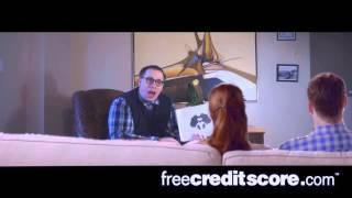 Riskys FREECREDITSCORE.COM Comerical
