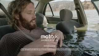 Motorola Moto X Lazy Phone - Sat Nav with Touchless Control - TV Ad